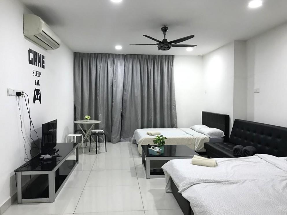 Apartment JB Shopping Mall Studio 9-9 Pax, Johor Bahru, Malaysia  - Apartment Design Johor