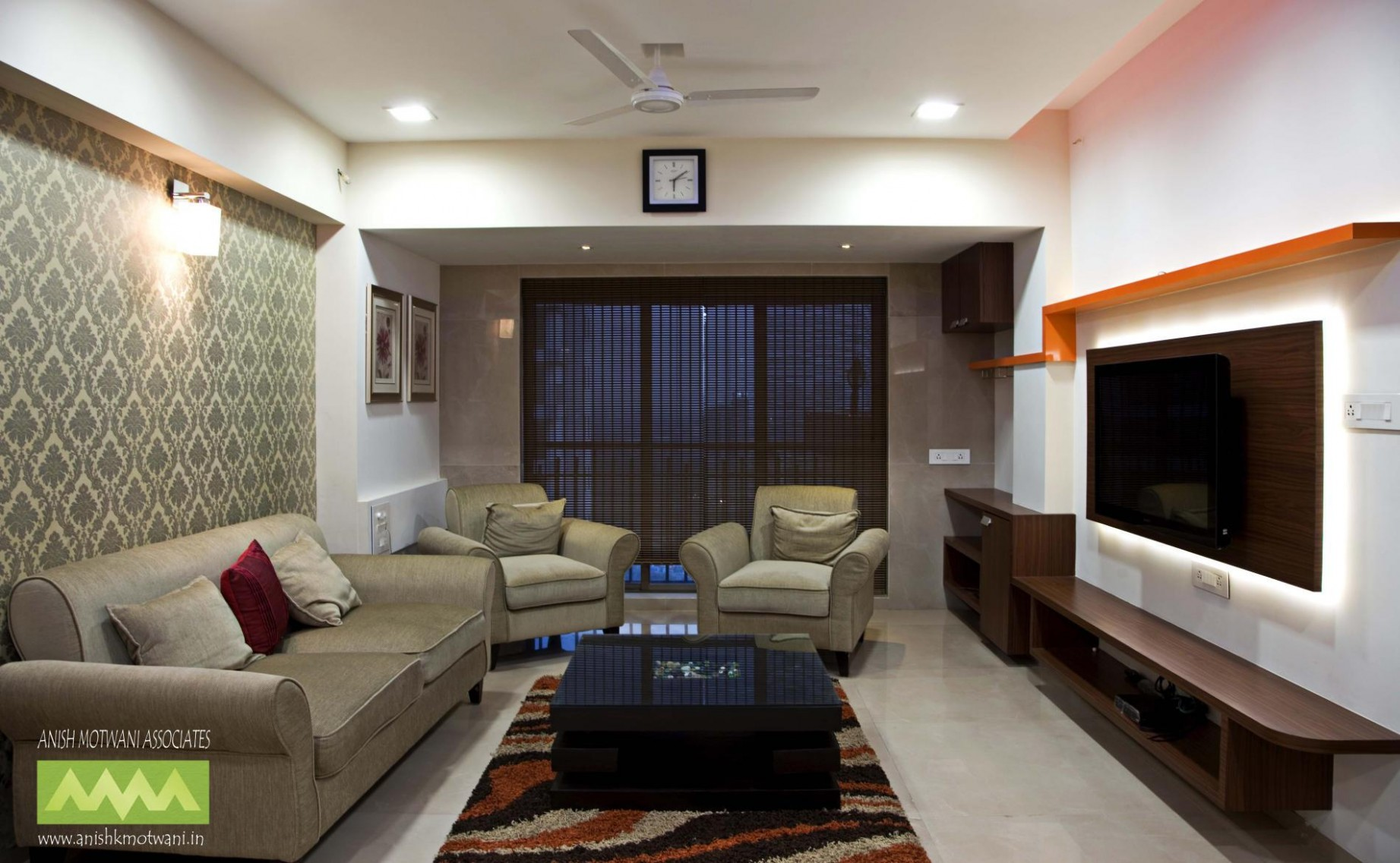 Appealing Simple Living Room Ideas With Interior Design For In  - Apartment Decorating Ideas India