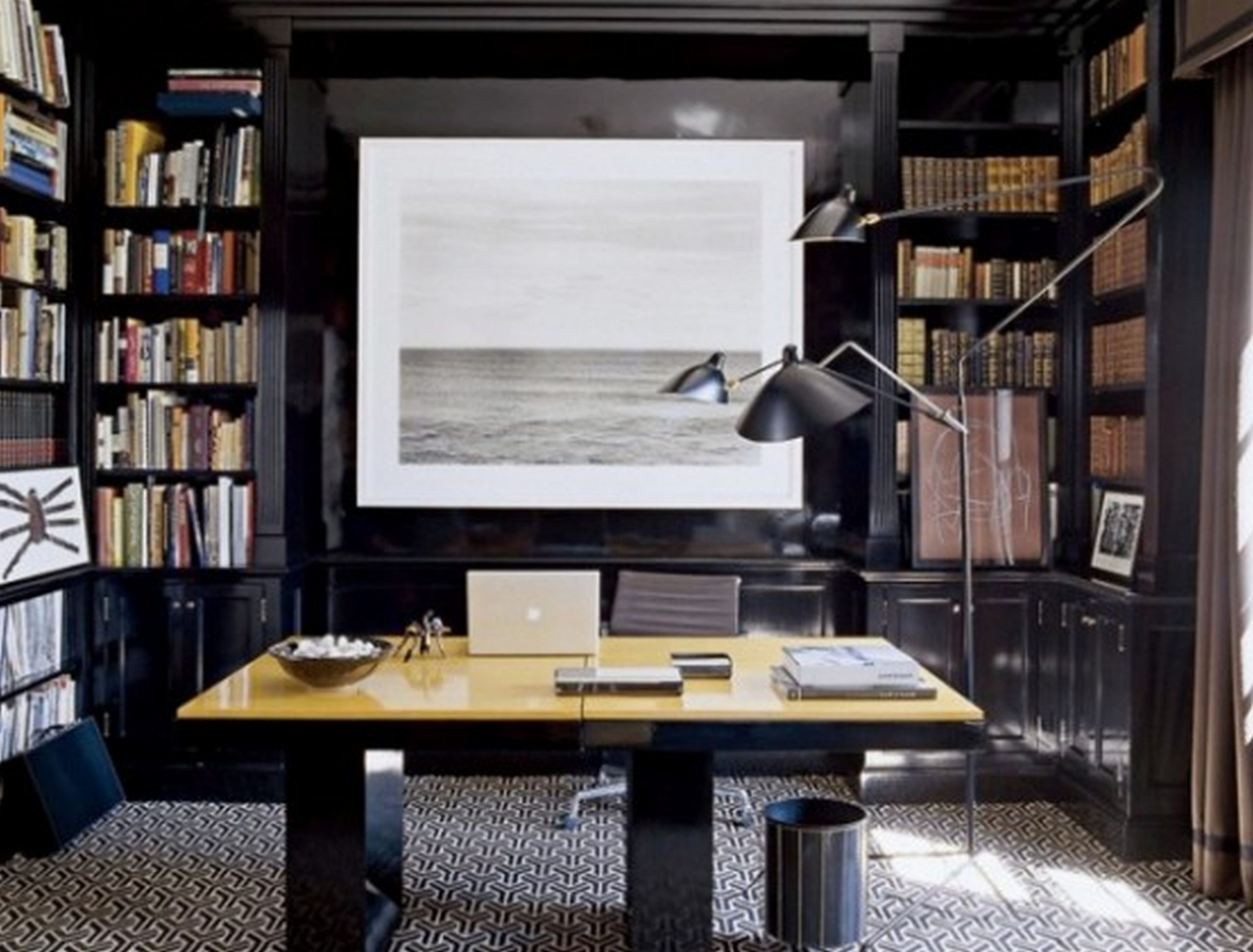Astounding Stylish And Dramatic Masculine Home Office Design Ideas  - Home Office Ideas Man