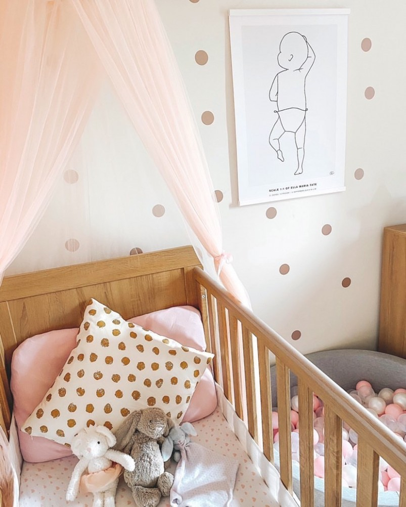 At home with @homewithmrstate - Baby Room Leeds