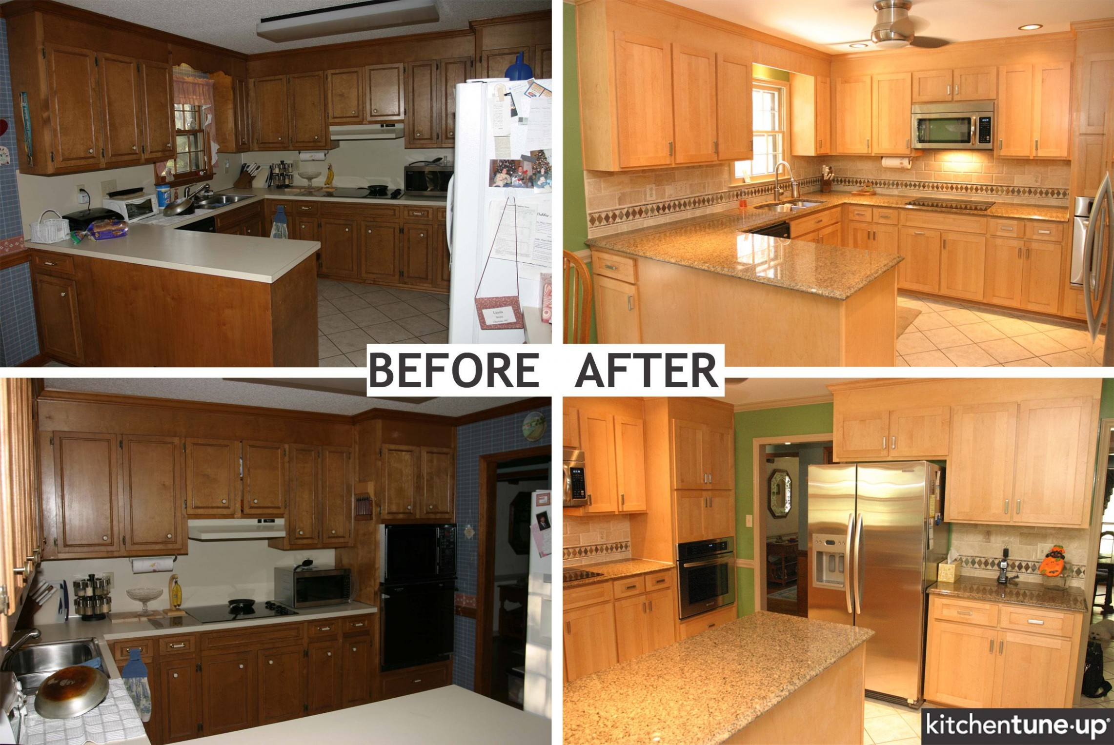 Average Cost To Reface Kitchen Cabinets Yourself Fireplace With  - How Much Does Refinishing Kitchen Cabinets Cost