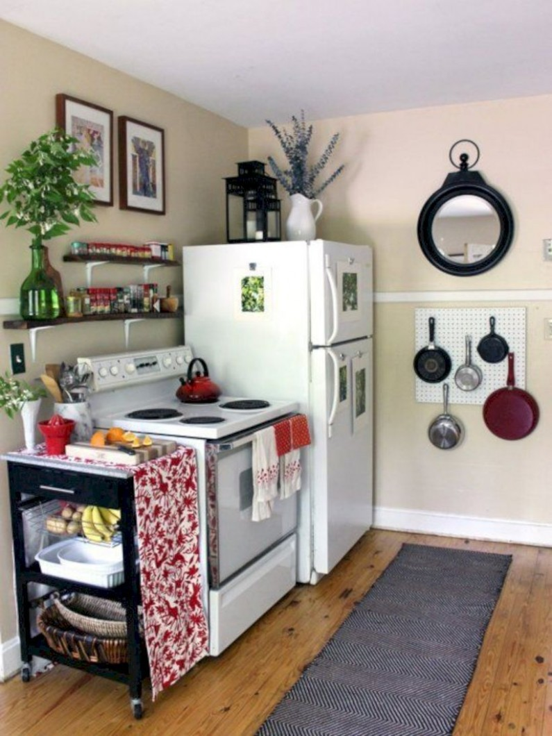 Awesome 10 Simple Small Apartment Decorating Ideas On A Budget  - Apartment Kitchen Decorating Ideas On A Budget
