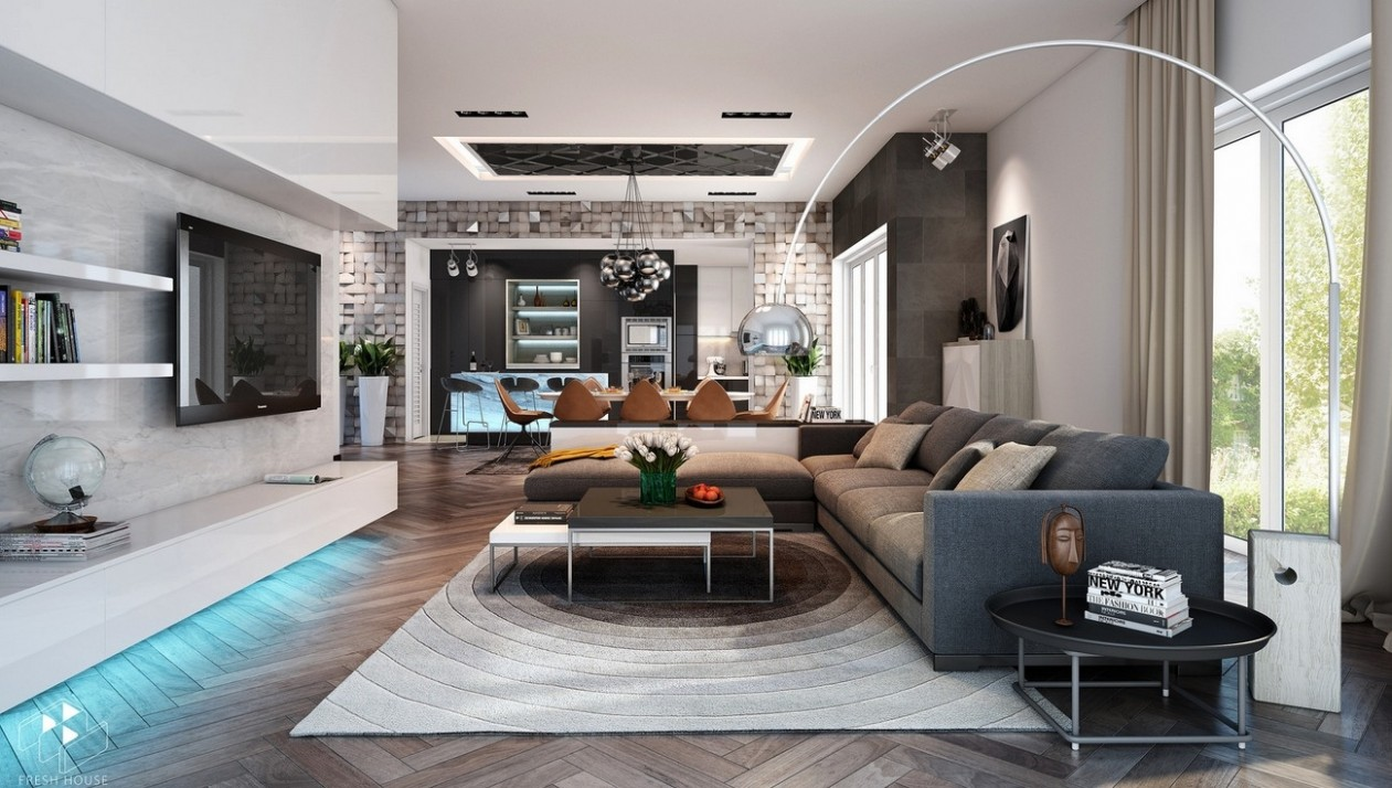Awesomely Stylish Urban Living Rooms - Urban Apartment Decor Ideas