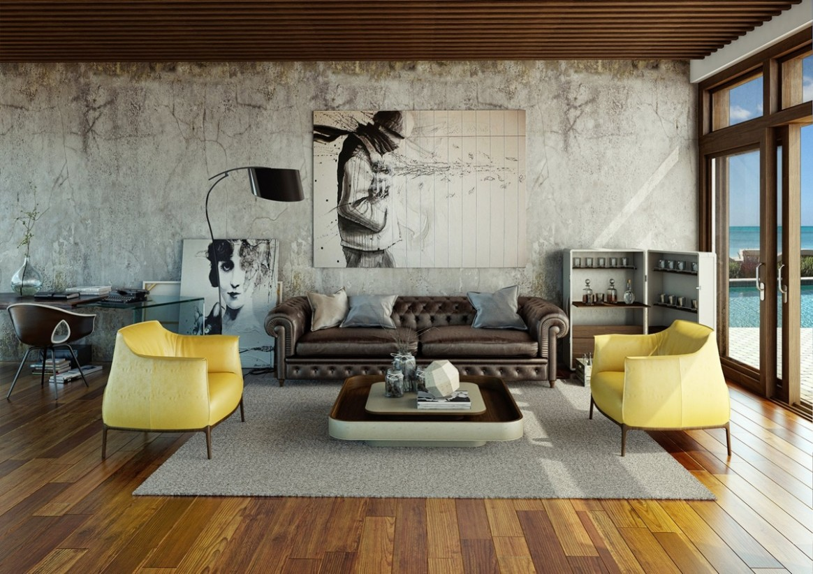 Awesomely Stylish Urban Living Rooms - Urban Apartment Design Ideas