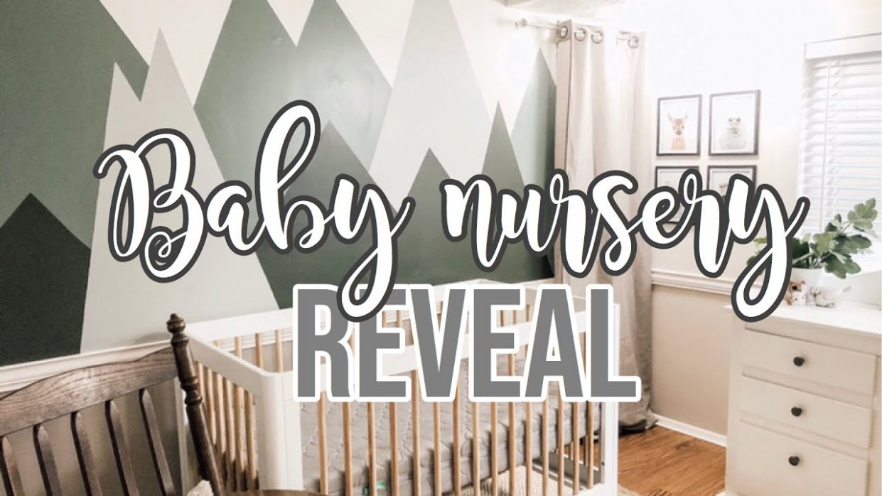 BABY BOY NURSERY REVEAL 🍼 - Baby Room Youtube