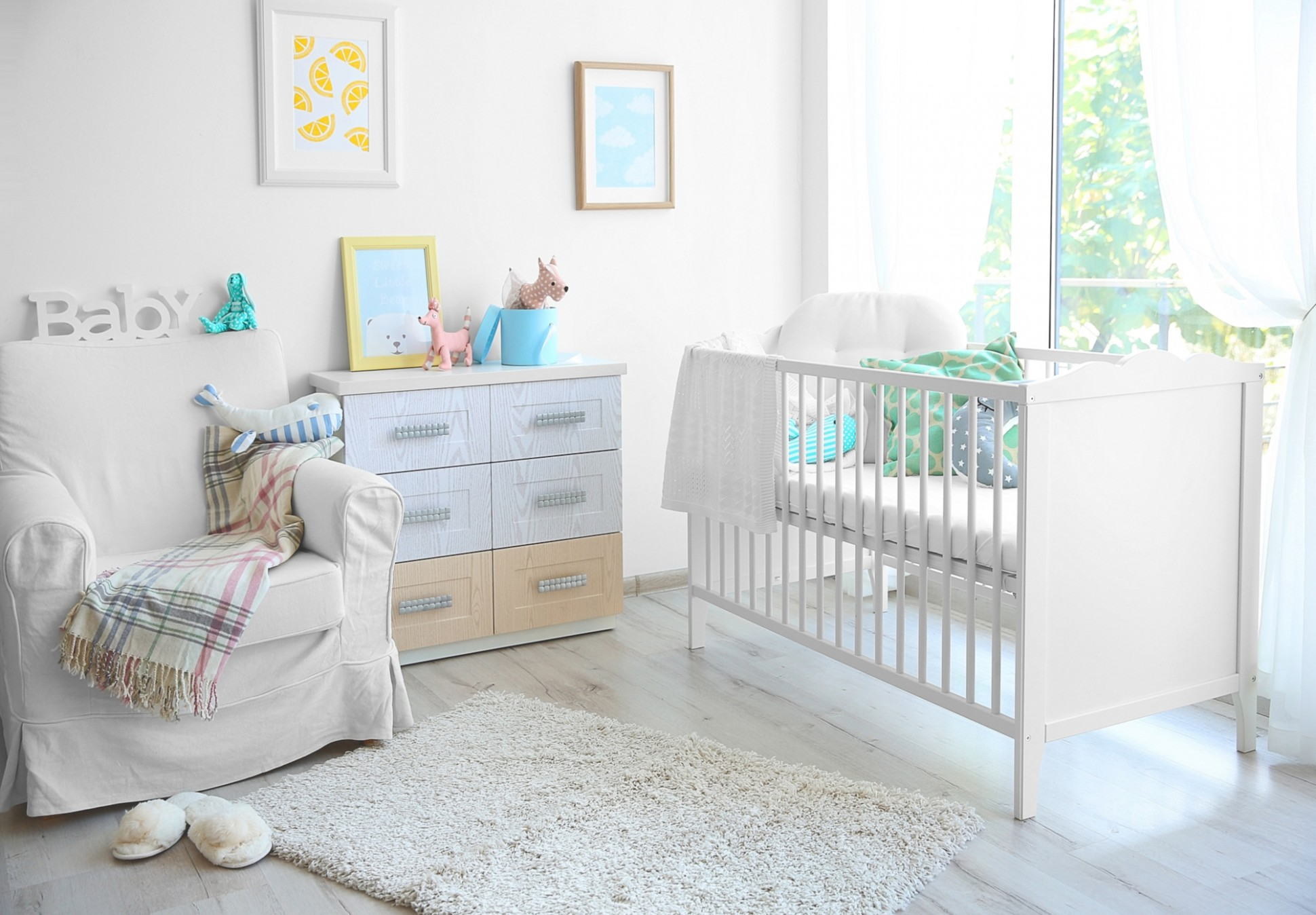 Baby Nursery - Decor & Furniture Ideas  Parents - Baby Room Furniture