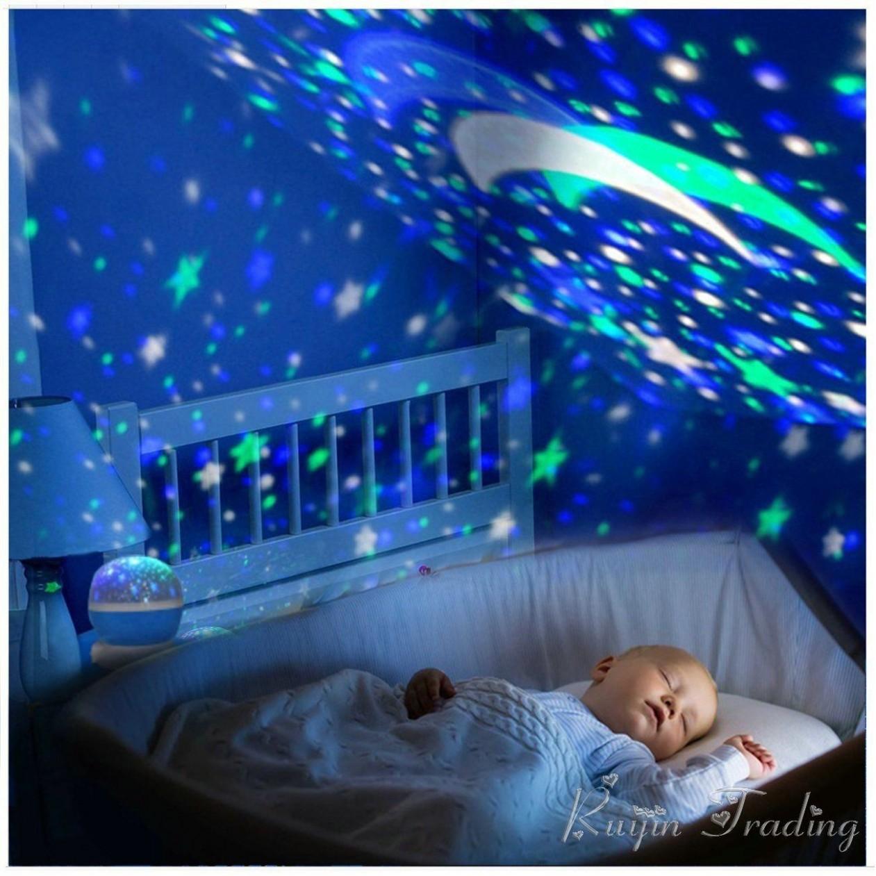 Baby Relaxing night sky lamp (BabyTimesOriginals™ Exclusive  - Baby Room Projector