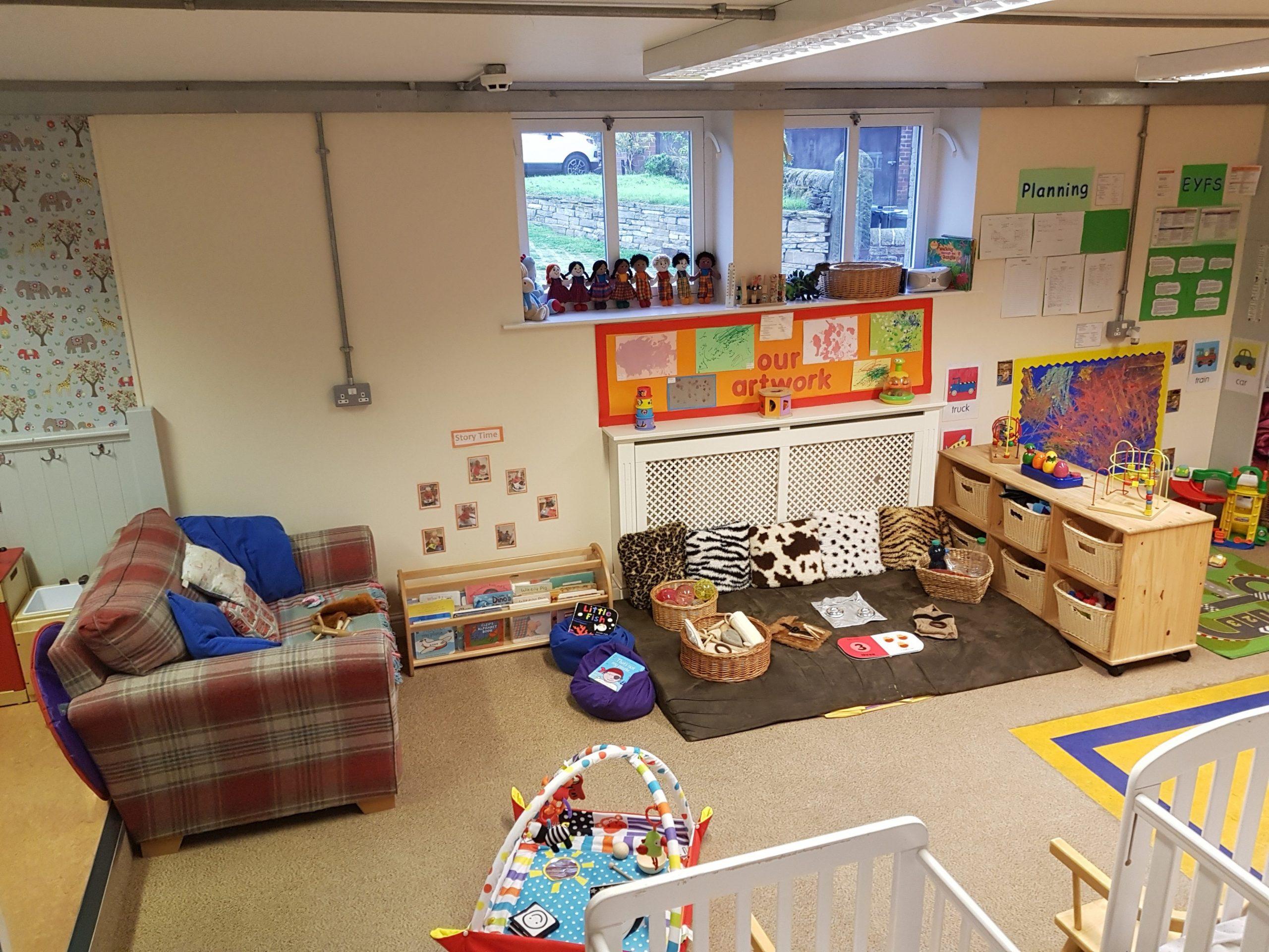 Baby room at Barnabys Day Nursery, Holmfirth - Baby Room Huddersfield
