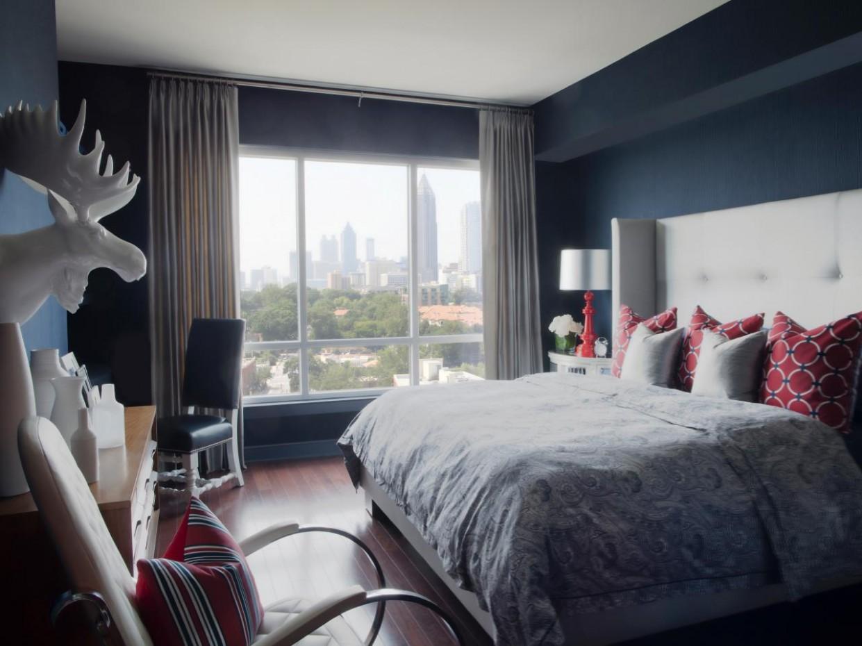 Bachelor Pad Ideas on a Budget  HGTV - Apartment Decor Ideas For Guys