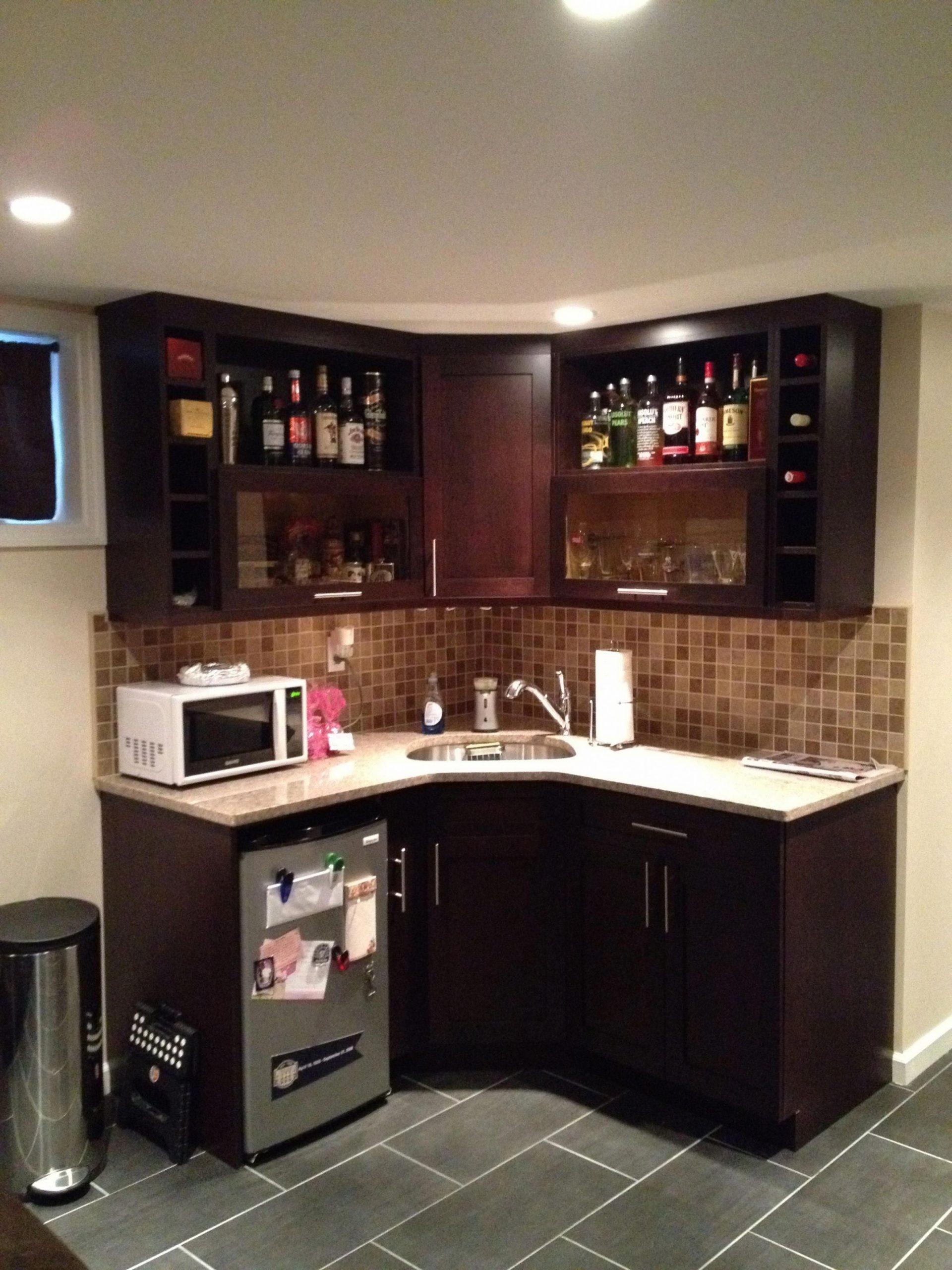 basement bedroom suite #luxurybasementideas  - Bedroom Kitchenette Ideas