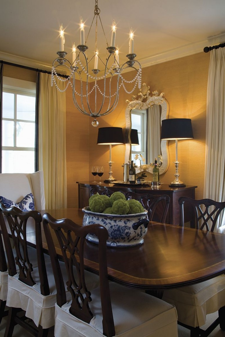 Bay Charmer Photo Gallery « Chesapeake Home + Living  Dining room  - Dining Room Ideas Classic
