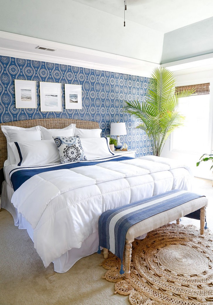 BEAUTIFUL BLUE BEDROOM DECOR IDEAS - Bedroom Ideas Blue