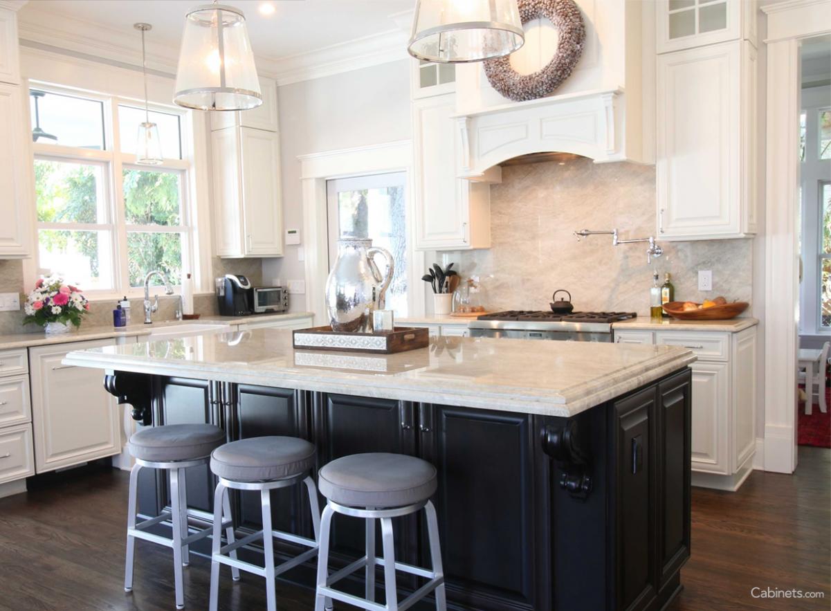 Beautiful two-toned kitchen  Buy kitchen cabinets, Kitchen  - Beautiful Kitchen Cabinets For Sale
