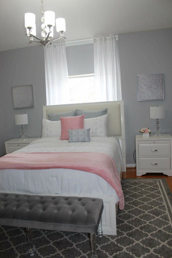 Bedroom Ideas Gray And Pink  Home Decor - Bedroom Ideas Grey And Pink