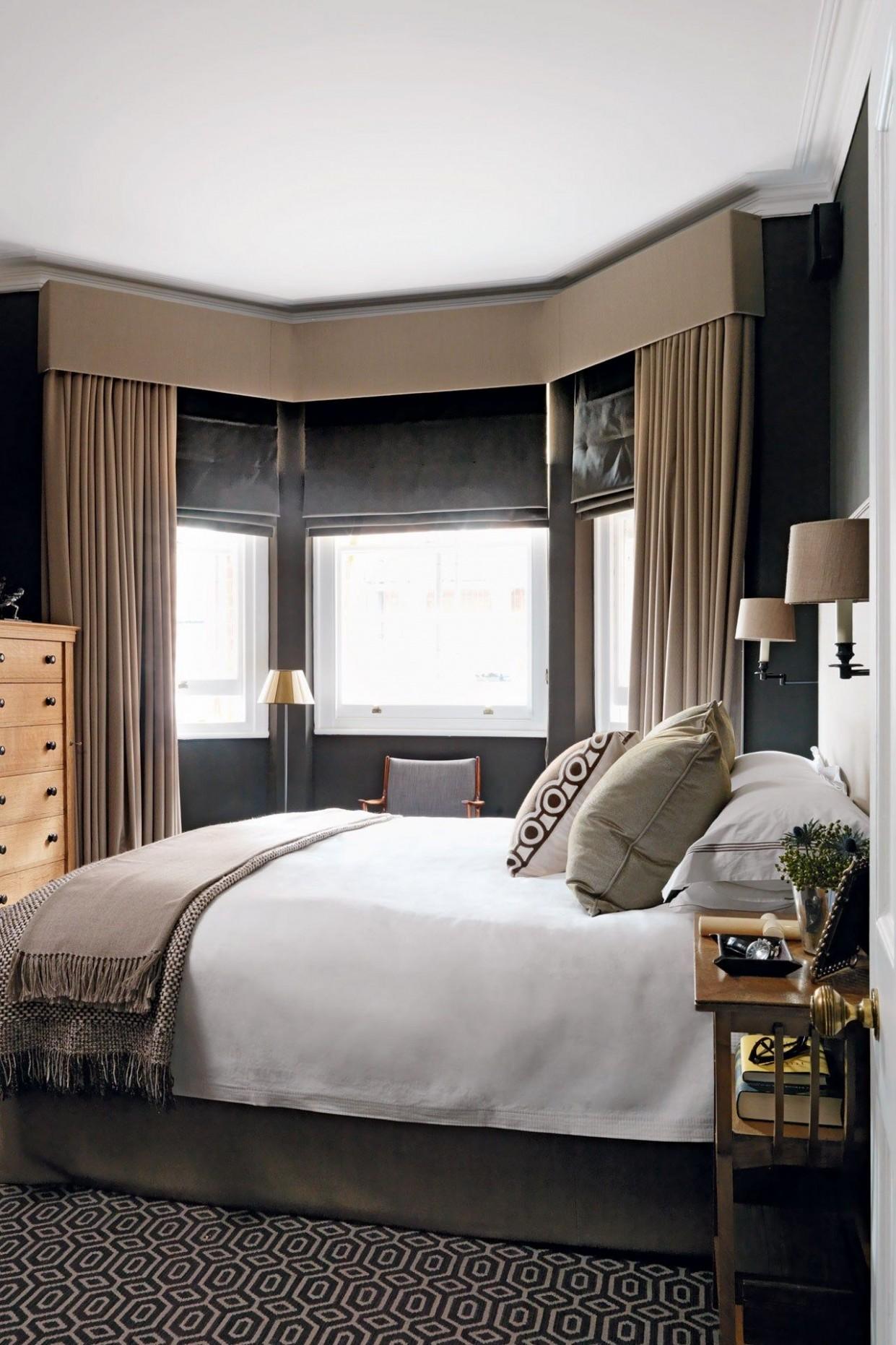 Bedroom ideas  Living room windows, Curtains living room, Bay  - Window Ideas For Bedroom