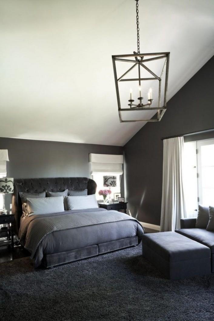 bedroom ideas with dark grey carpet  Grey bedroom design, Black  - Bedroom Ideas Dark Grey
