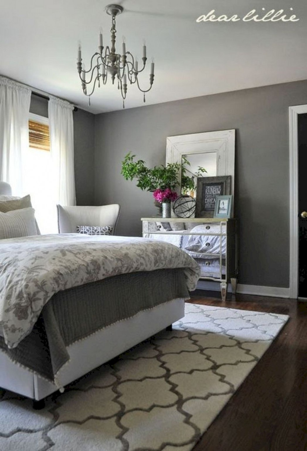 Bedroom Ideas with Gray Walls – DECOOR - Bedroom Ideas With Grey Walls