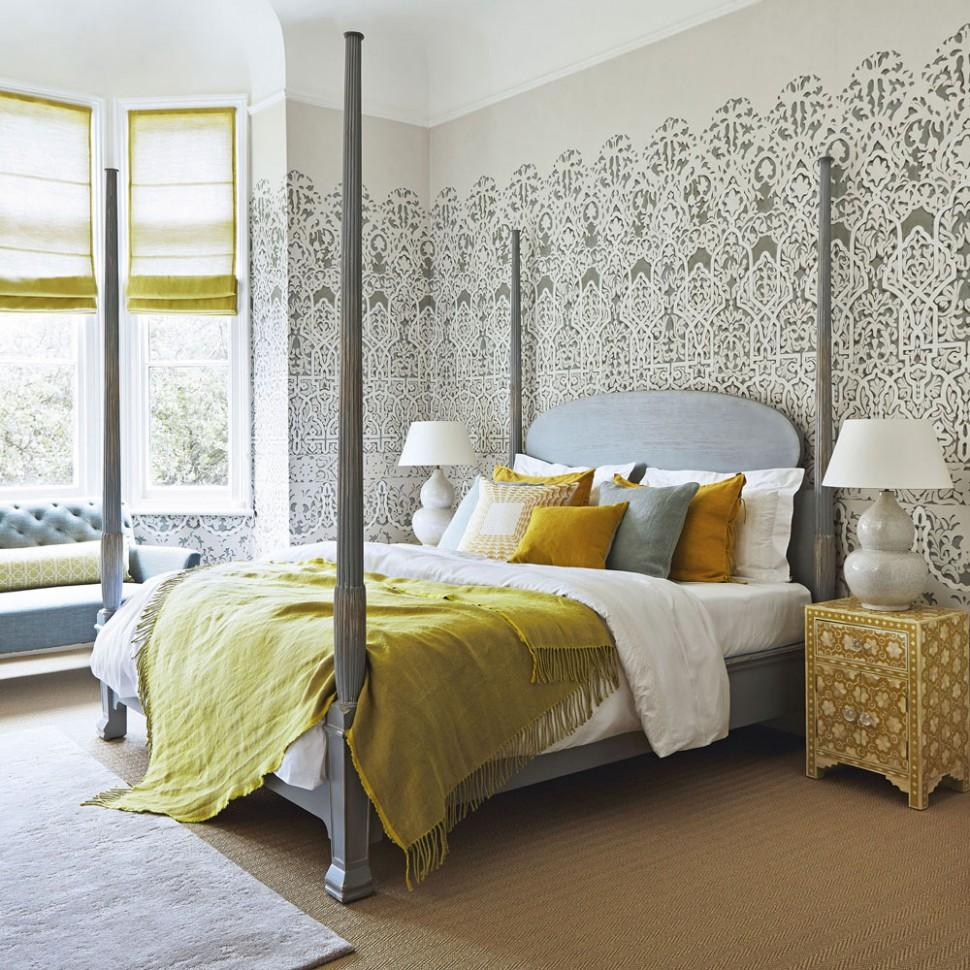 Bedroom wallpaper ideas – bedroom wallpaper designs – Ideal Home - Bedroom Ideas Wallpaper