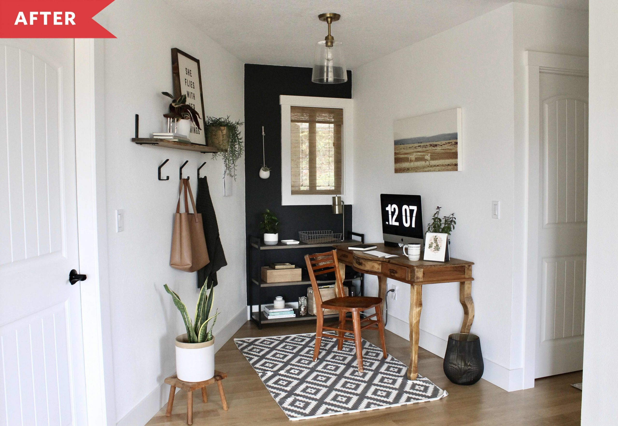 Before & After  Home Office - Home Office Redo Ideas