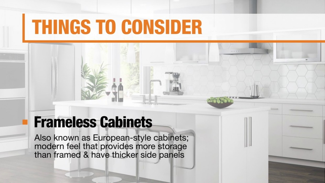 Best Kitchen Cabinets for Your Home - The Home Depot - Kitchen Cabinet Depth Options