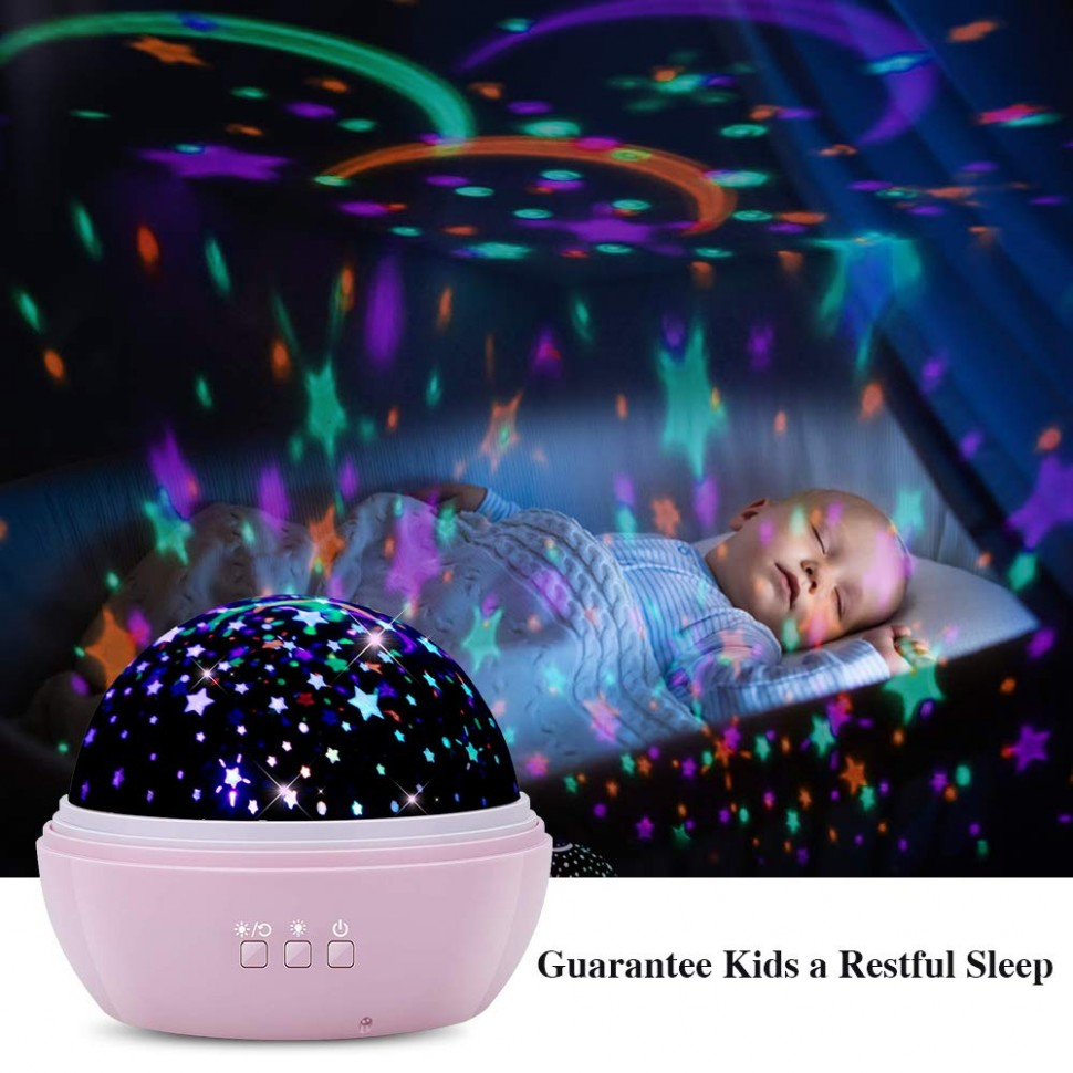 Best Night Light Projector In 12 - The Double Check - Baby Room Projector