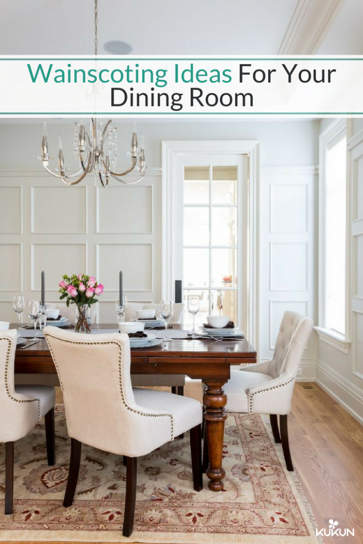 Best Wainscoting Ideas to Transform Your Dining Room  Dining room  - Dining Room Ideas With Wainscoting