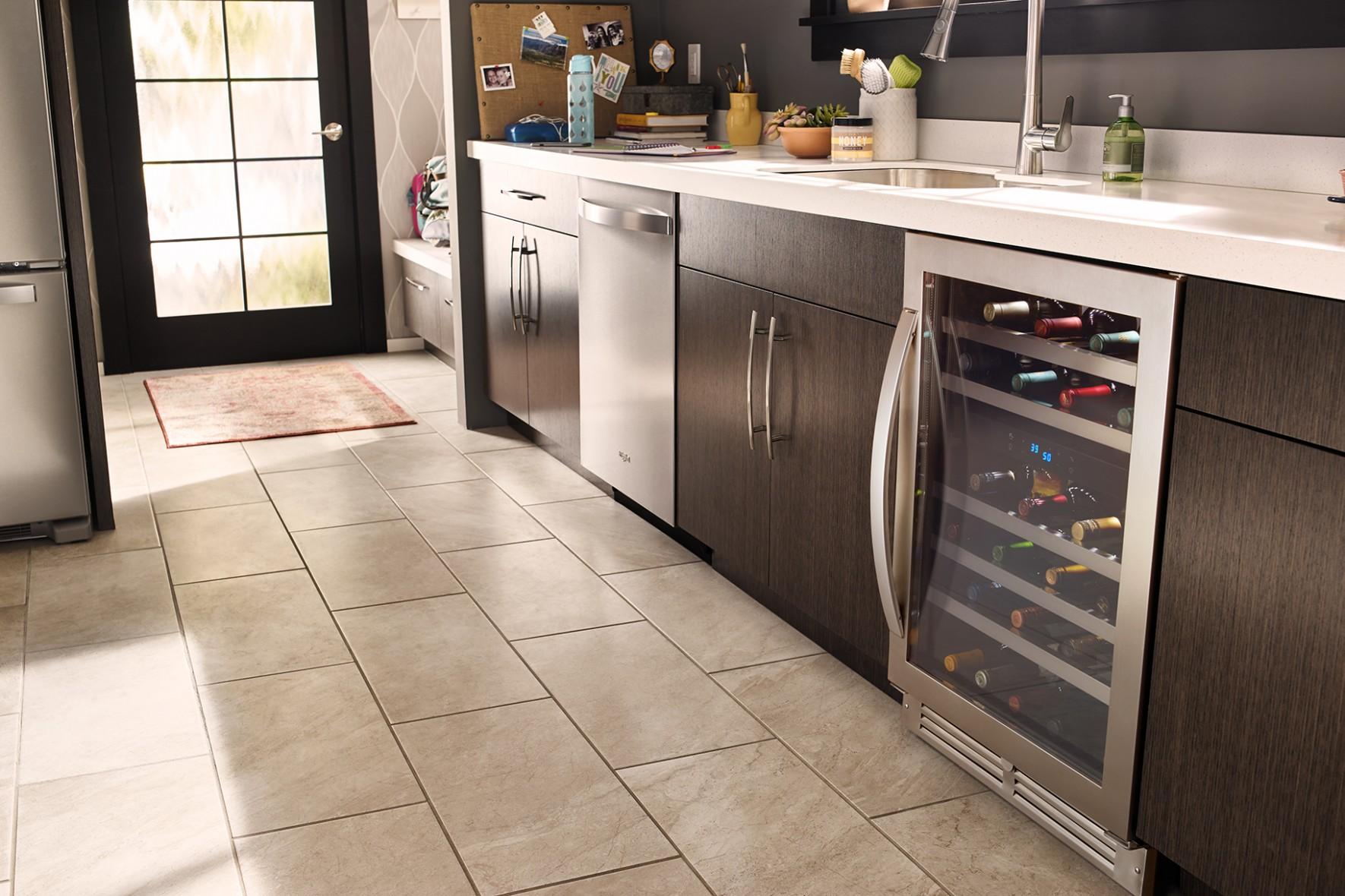 Best Wine Fridge Whirlpool Undercounter Wine Center Review  Style  - Wine Fridge Kitchen Cabinet