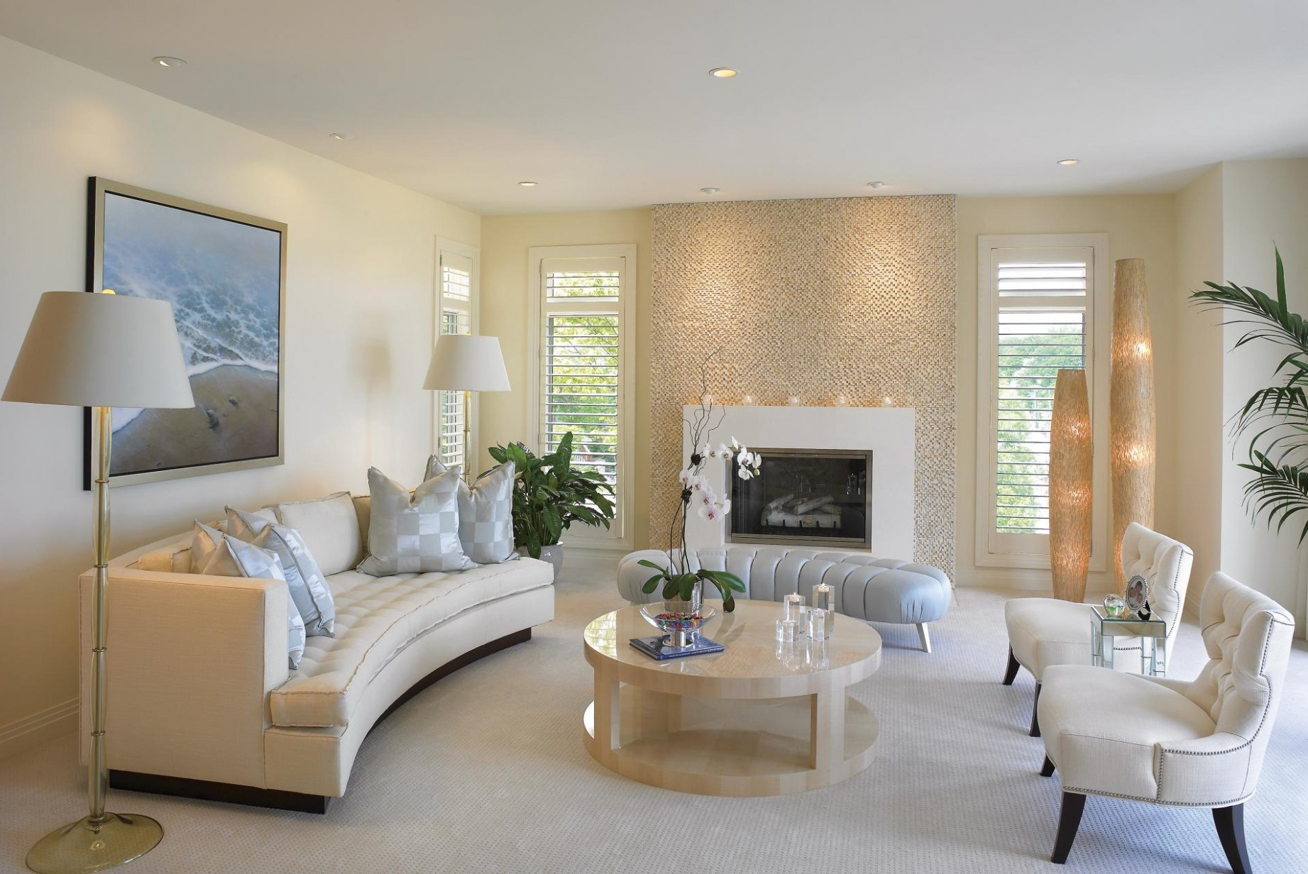 Beyond White: Bliss of Soft and Elegant Beige Living Rooms! - Dining Room Ideas Cream
