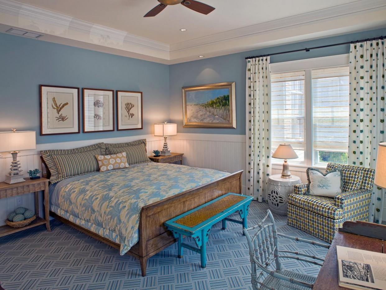 Blue Master Bedroom Ideas  HGTV - Bedroom Ideas In Blue