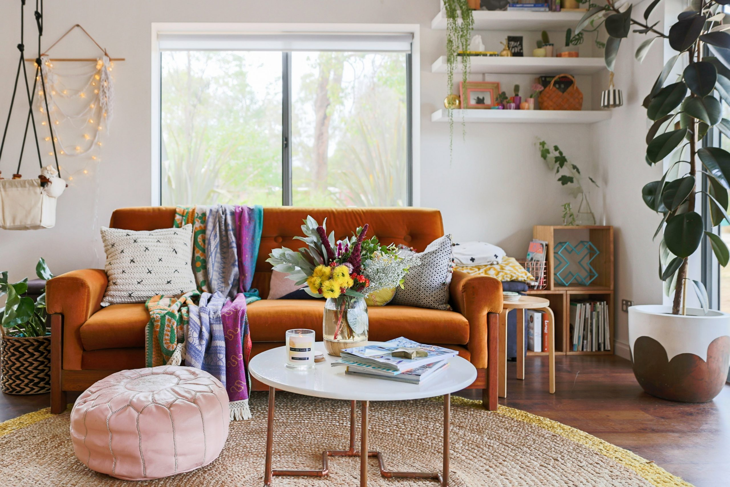 Bohemian Style Decor Ideas from Australian Homes  Apartment Therapy - Small Apartment Decorating Ideas Boho