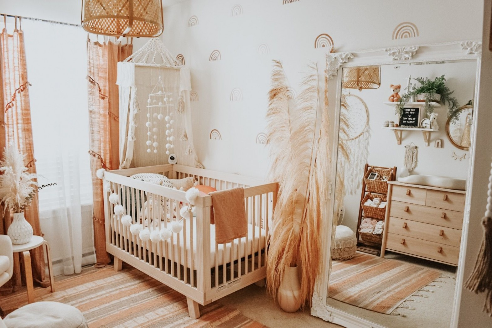 Boho Baby Nursery - Project Nursery in 9  Boho baby nursery  - Baby Room Near Me