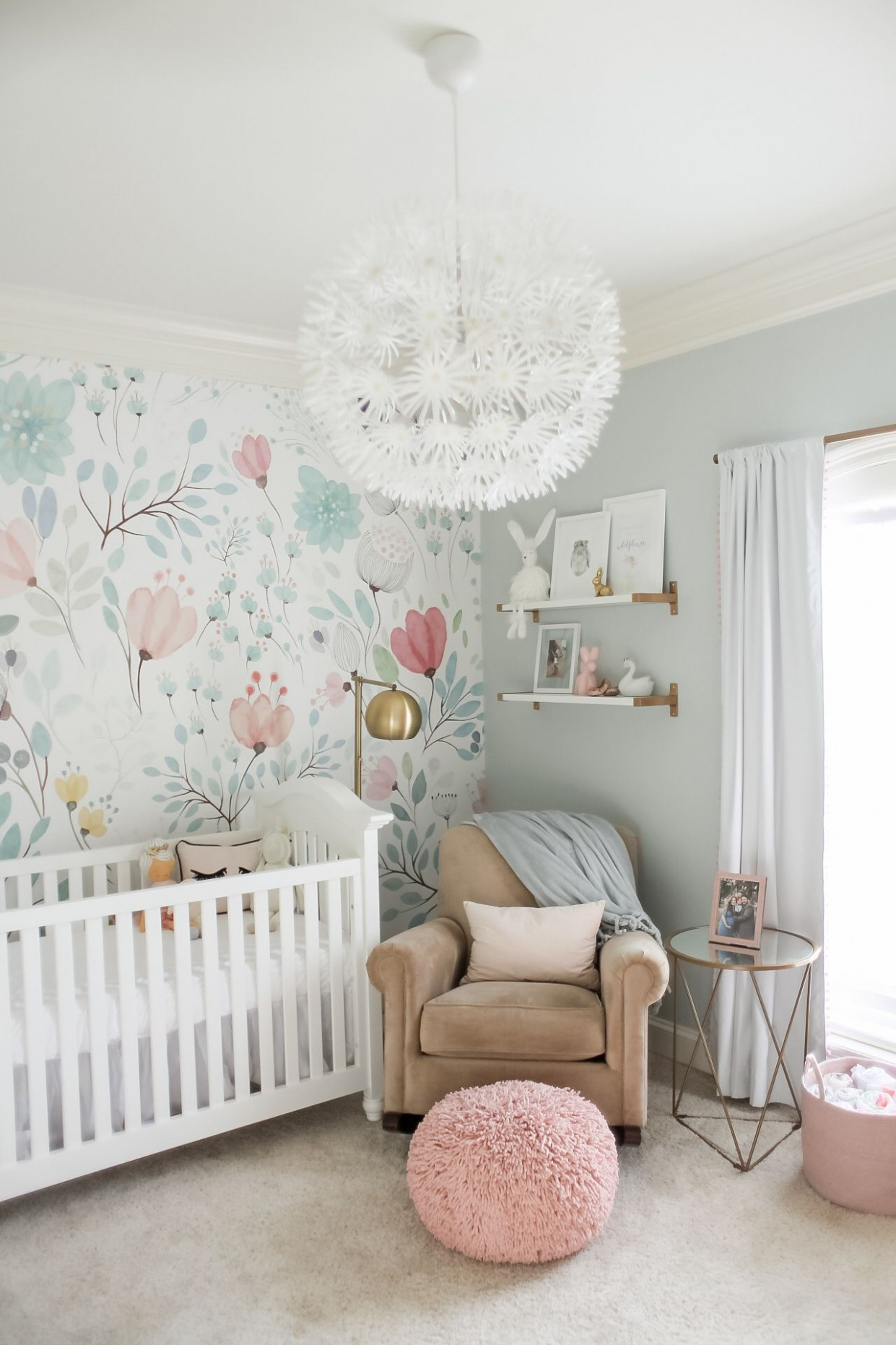 Bright and Whimsical Nursery for Colette - Project Nursery  Baby  - Baby Room Decor Girl