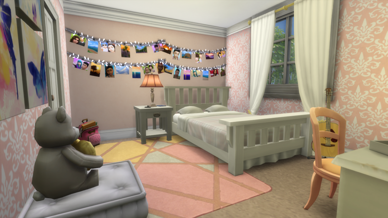Building Family Homes in The Sims 11  SimsVIP - Bedroom Ideas Sims 4