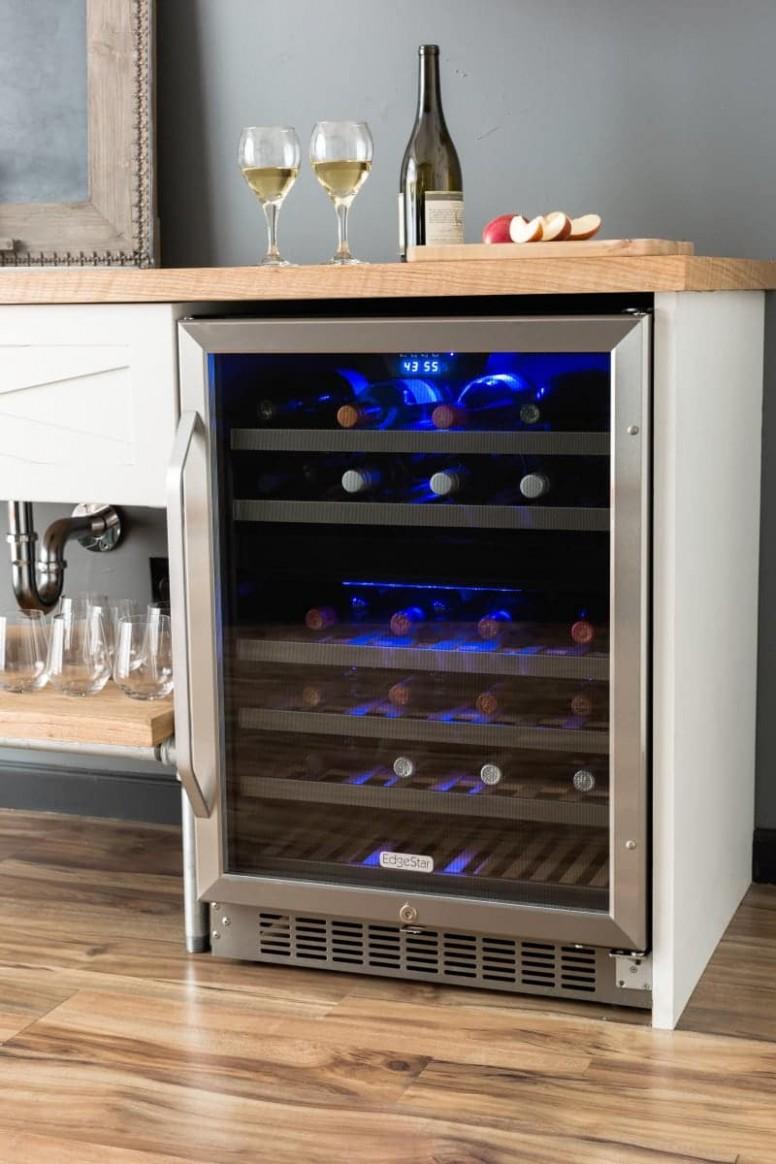 Built-In Wine Coolers & Under Counter Wine Fridges - Wine Fridge Kitchen Cabinet