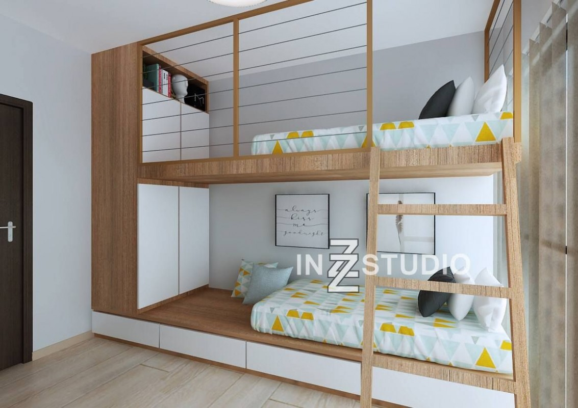 Bunk beds are great ways to add more space to a room, especially  - Bedroom Ideas Double Deck