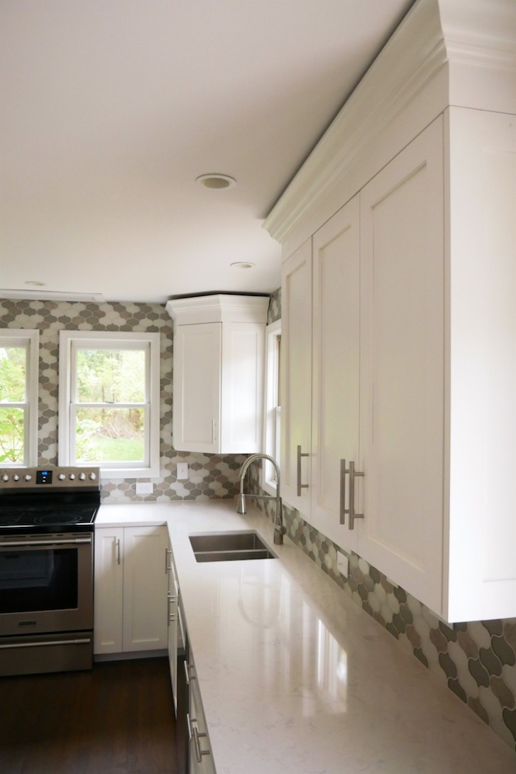 Cabinet Crown Molding » Rogue Engineer - How To Install 2 Piece Crown Molding On Kitchen Cabinets