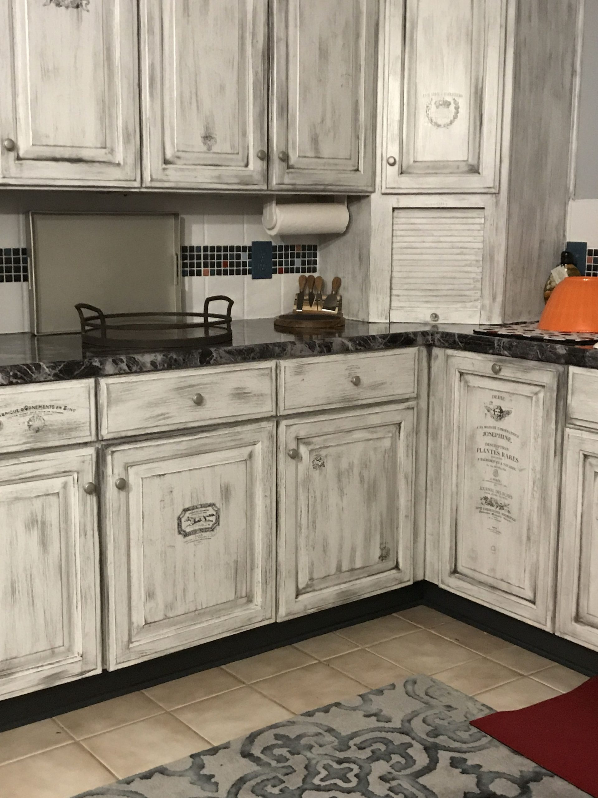 Cabinet finish  Distressed kitchen cabinets, Rustic kitchen  - Kitchen Cabinet Styles And Finishes
