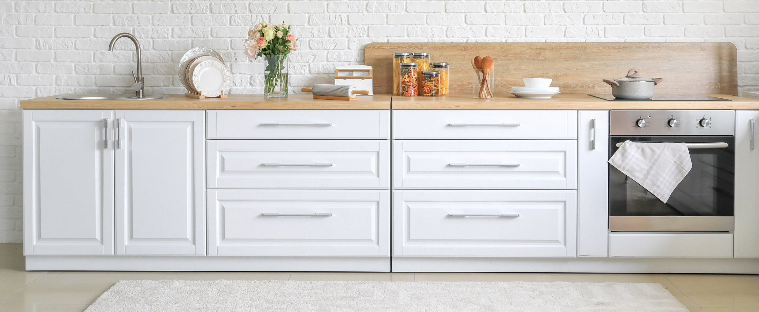 Cabinet Hardware Placement Guide - Long Cabinet Pulls Kitchen