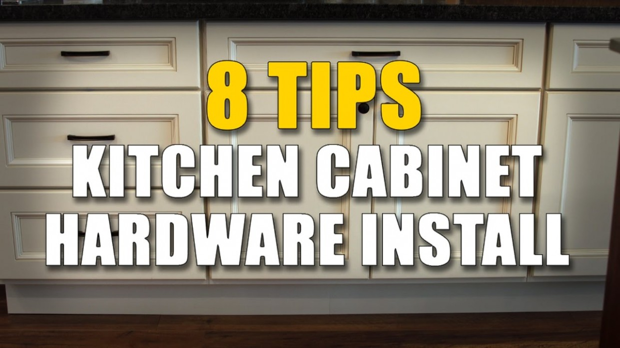Cabinet Knobs and Pulls - 12 IMPORTANT installing Tips - Installing Knobs And Pulls On Kitchen Cabinets
