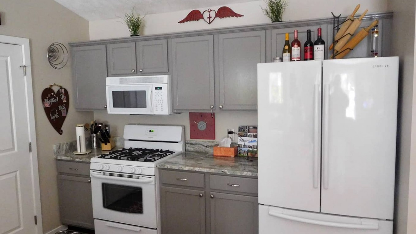 Cabinet Painting  Home Interior Painting  Interior Painters - Kitchen Cabinets Grand Haven Mi