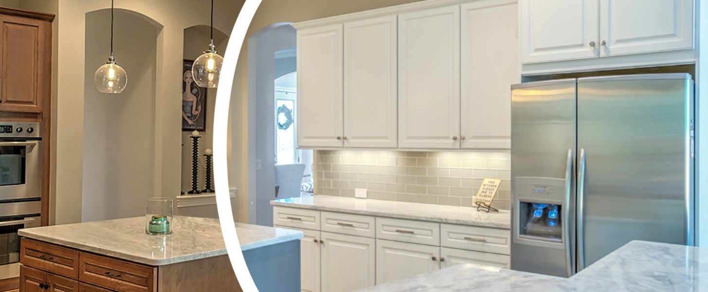 Cabinet Refacing & Cabinet Painting, NHance Niagara - Kitchen Cabinet Refacing Niagara Falls