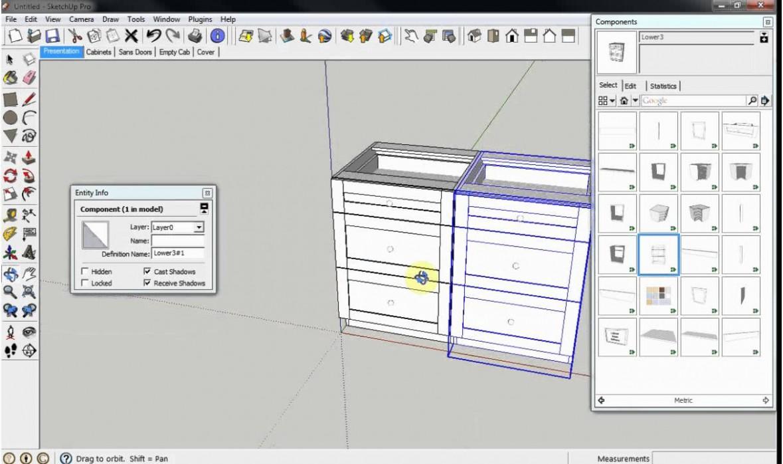 CabinetSense: Cabinet Design Software for Sketchup