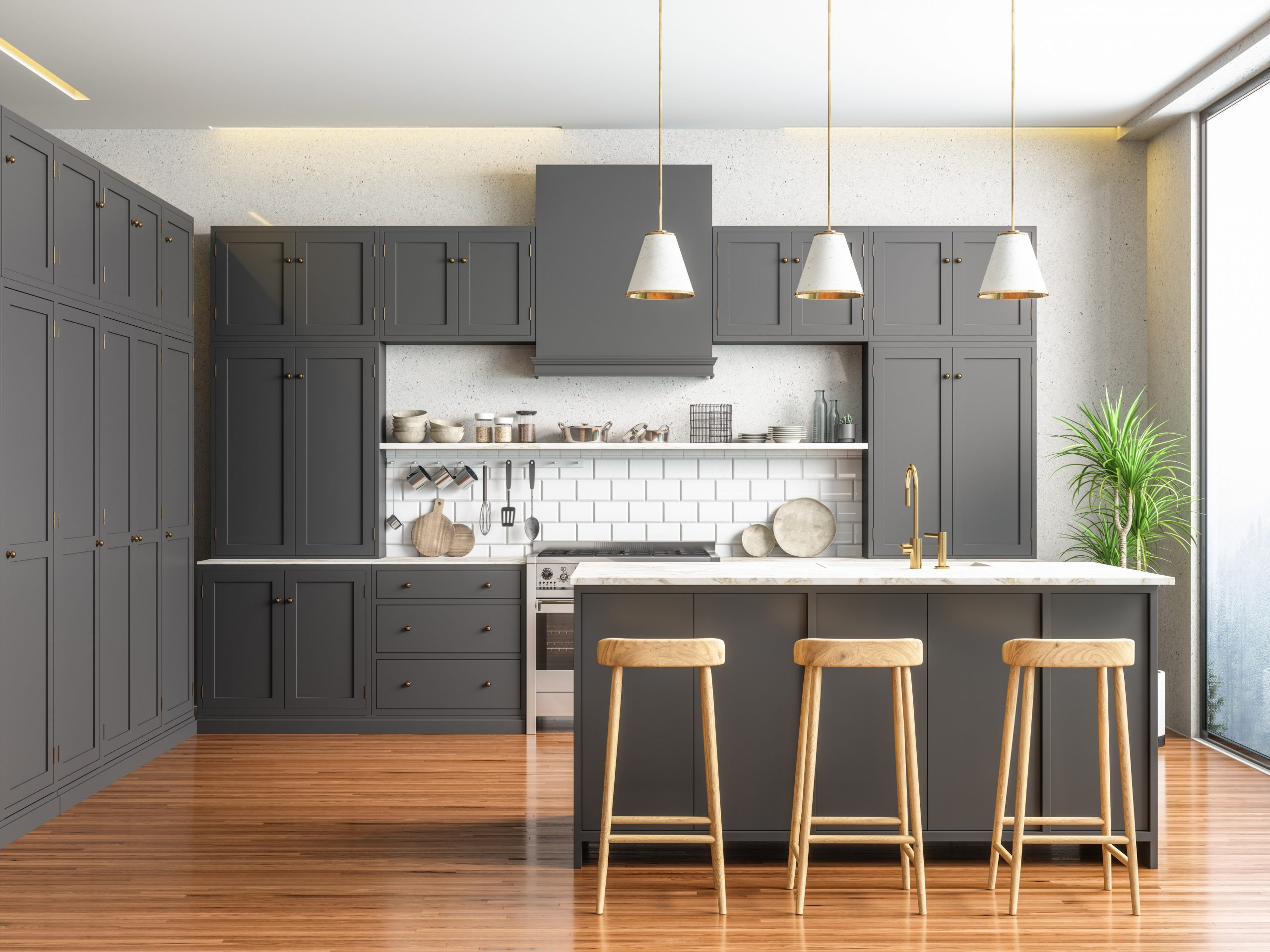 Can You Pull Laminate Off Cabinets & Paint the Pressed Wood?  Hunker - Pressed Wood Kitchen Cabinets