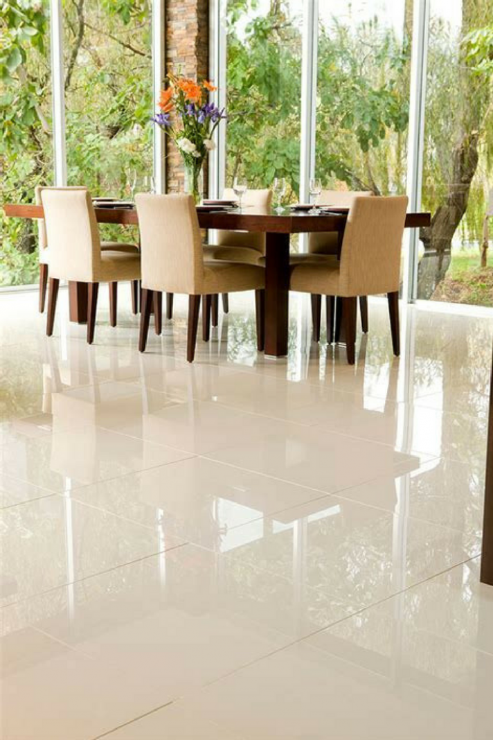 Ceramic and Porcelain Tile: Some Important Differences  Living  - Dining Room Tile Ideas