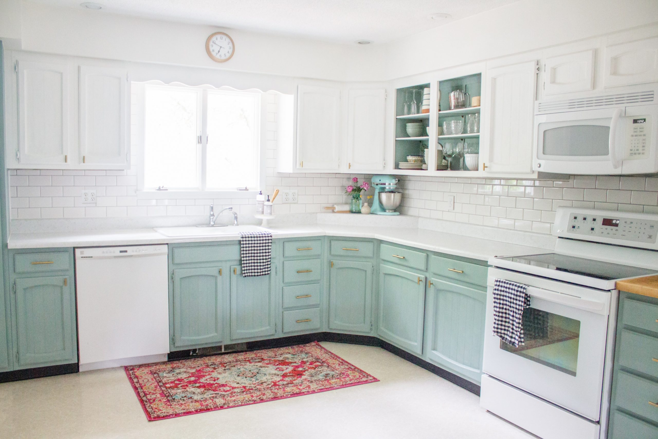 Chalk Painted Kitchen Cabinets Two Years Later  Holland Avenue Home - Diy Chalk Paint On Kitchen Cabinets