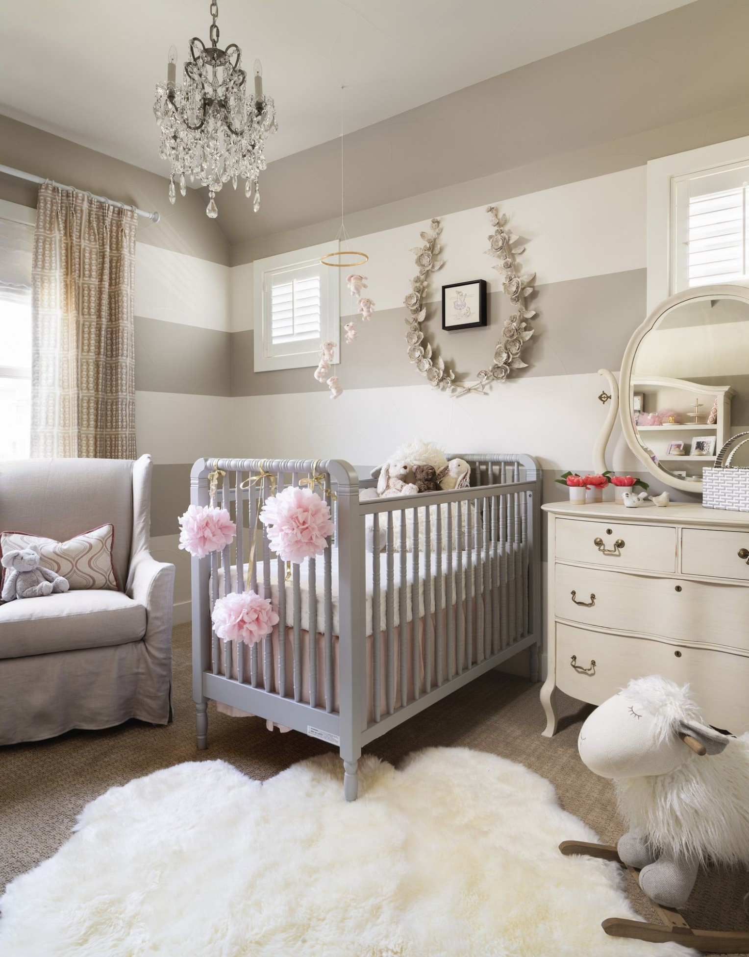Chic Baby Room Design Ideas - How to Decorate a Nursery - Baby Room Photos