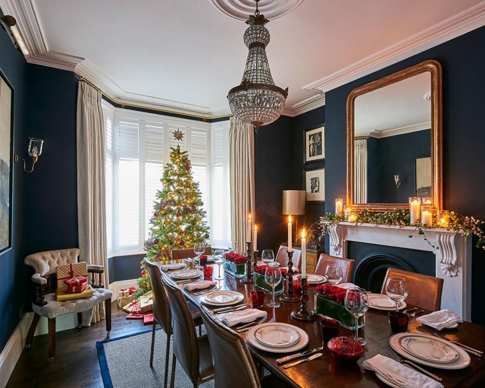 Christmas dining room ideas – Christmas dining room decor  Homes  - Dining Room Ideas For Christmas