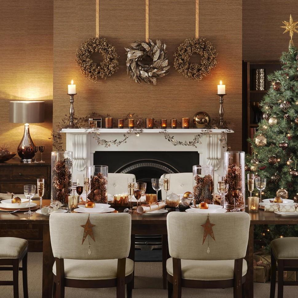 Christmas dining room ideas to add a flourish to Christmas dinner - Dining Room Ideas For Christmas
