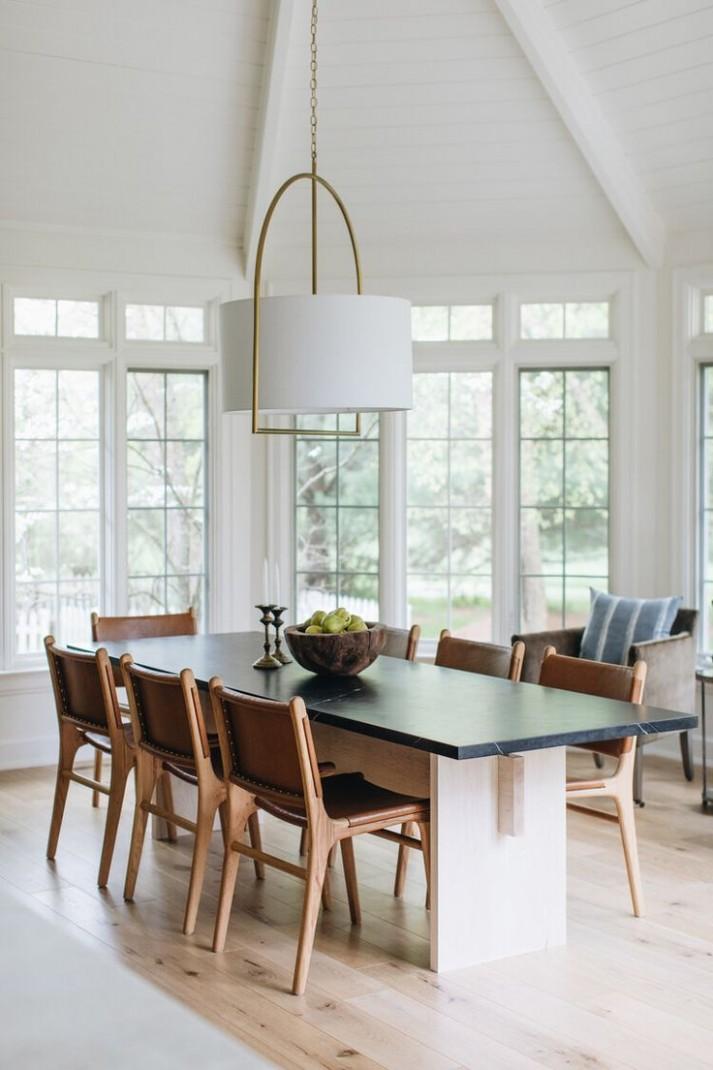 Classic Dining Room in 8  Classic dining room, Dining room  - Dining Room Ideas Modern