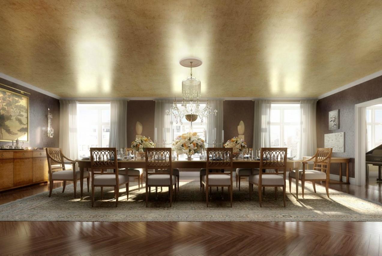 classic luxury dining roomInterior Design Ideas